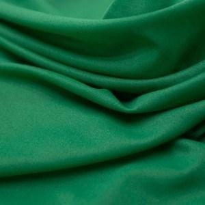 Tecido Cetim Chanel Cor Verde Floresta