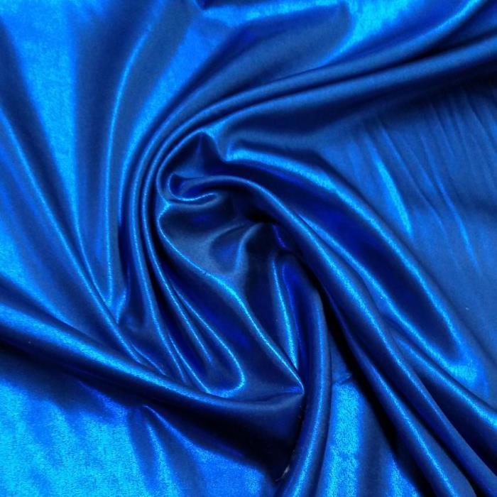 Tecido Cetim Charmeuse Azul