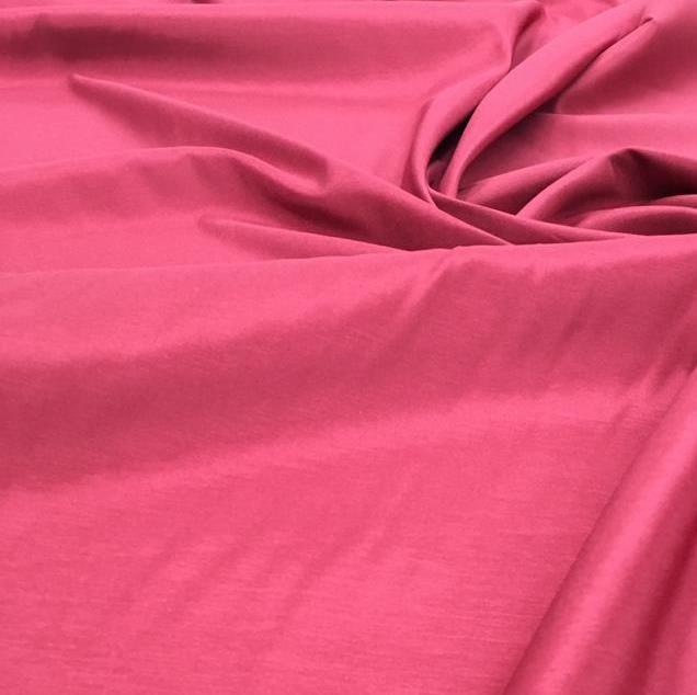 Tecido Cetim com Elastano Rosa Pink