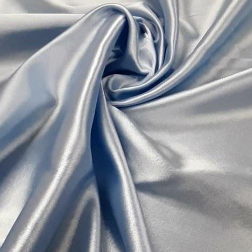 Tecido Cetim Com Strech Azul Serenity