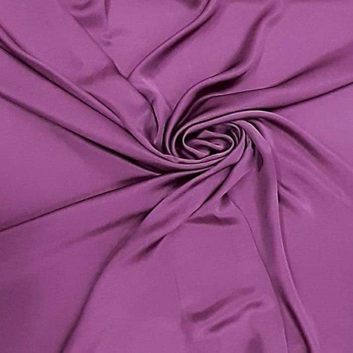 Tecido Cetim de Seda Pura Marsala Pantone 19-2420