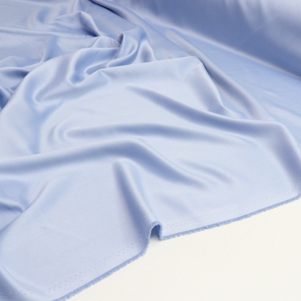 Tecido Crepe Amanda Azul Bebê
