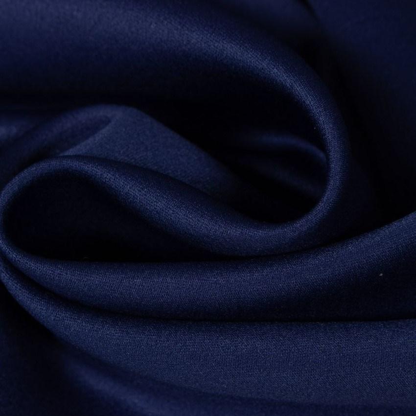 Tecido Crepe Amanda Cor Azul Marinho