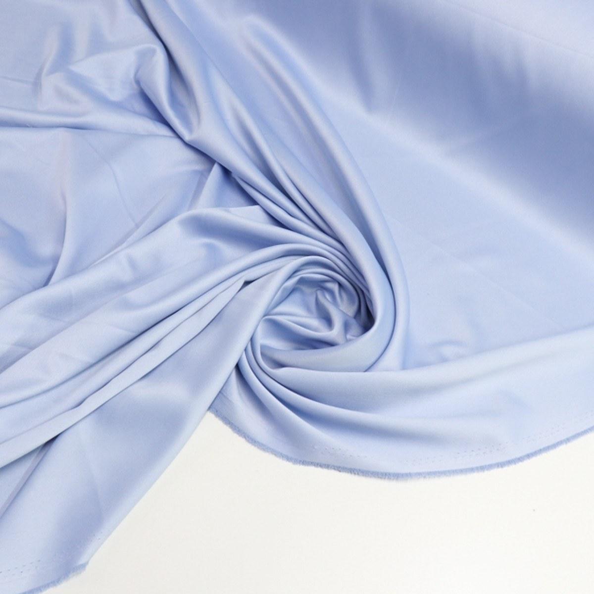 Tecido Crepe Amanda Light Azul Claro