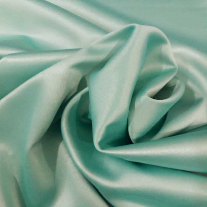 Tecido Crepe Amanda Satin Verde Tiffany