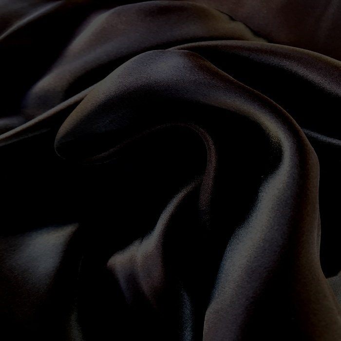 Tecido Crepe Chanel Preto