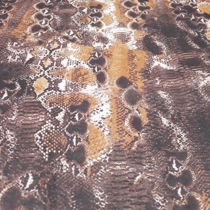 Tecido Crepe Chiffon Animal Print