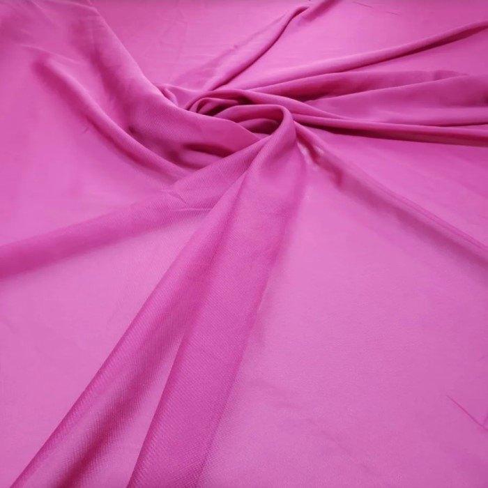 Tecido Crepe Chiffon Pink