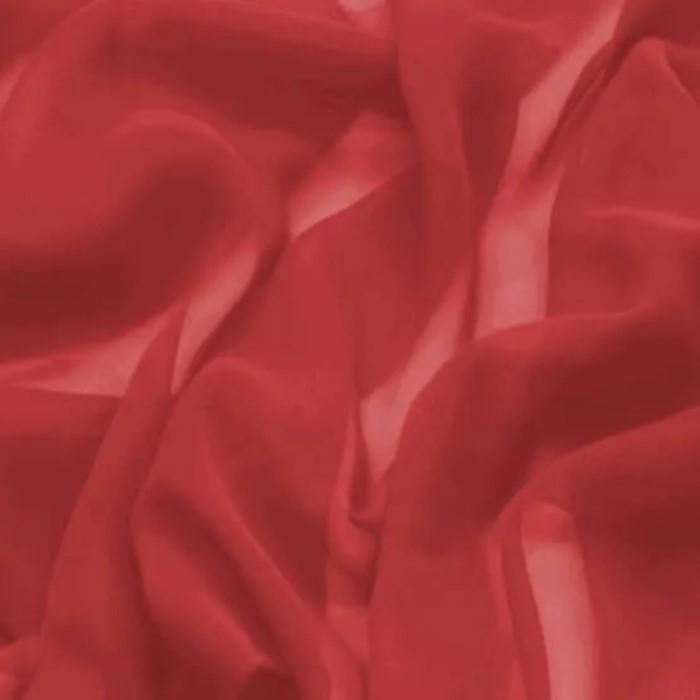 Tecido Crepe Chiffon Vermelho