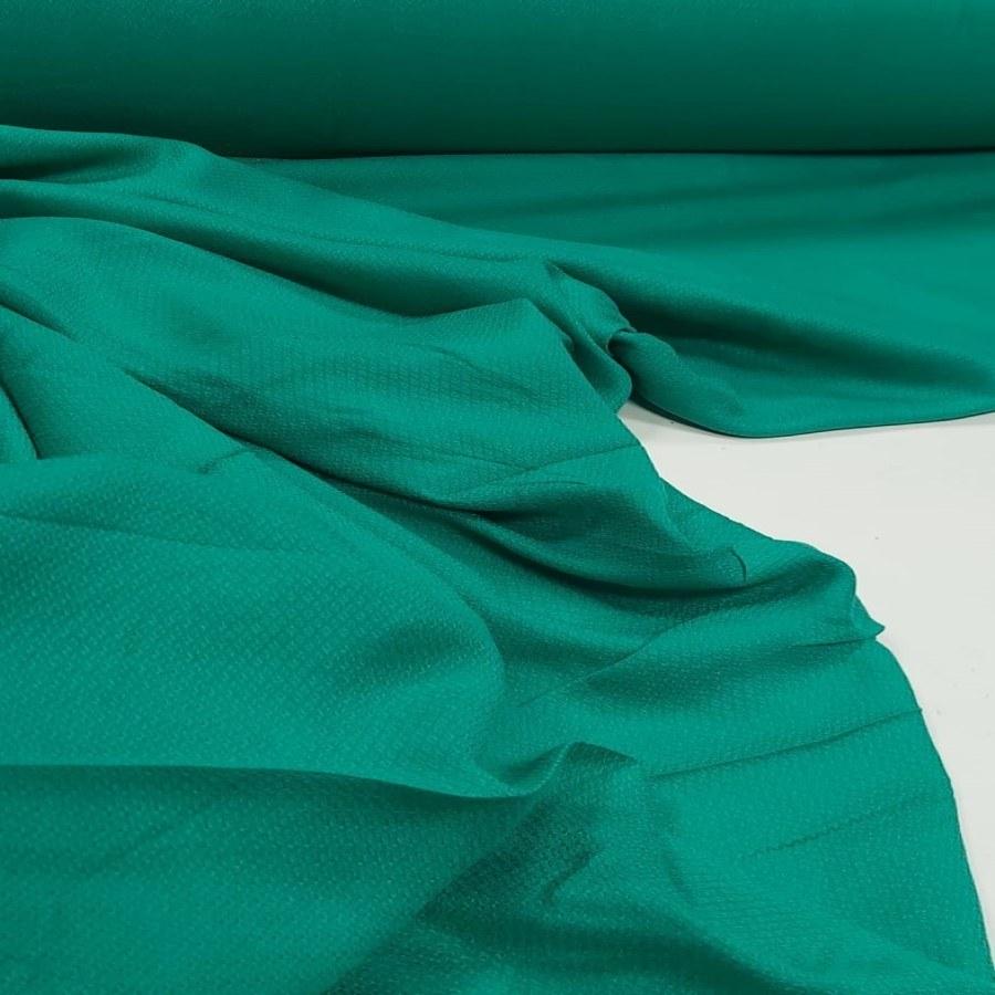 Tecido Crepe de Viscose Granitê Verde Jade