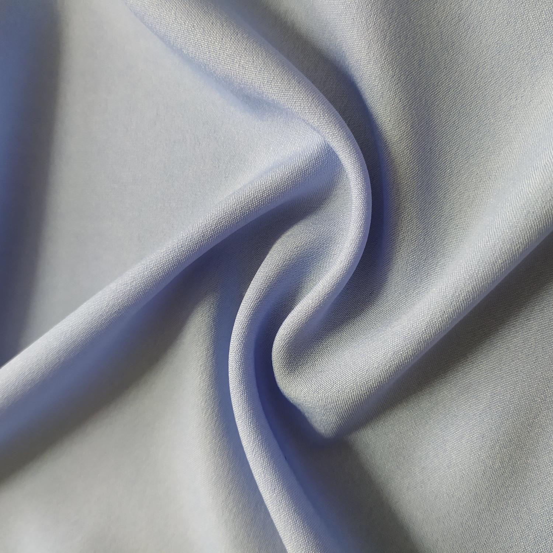 Tecido Crepe Indiano Para Forro Azul Serenity