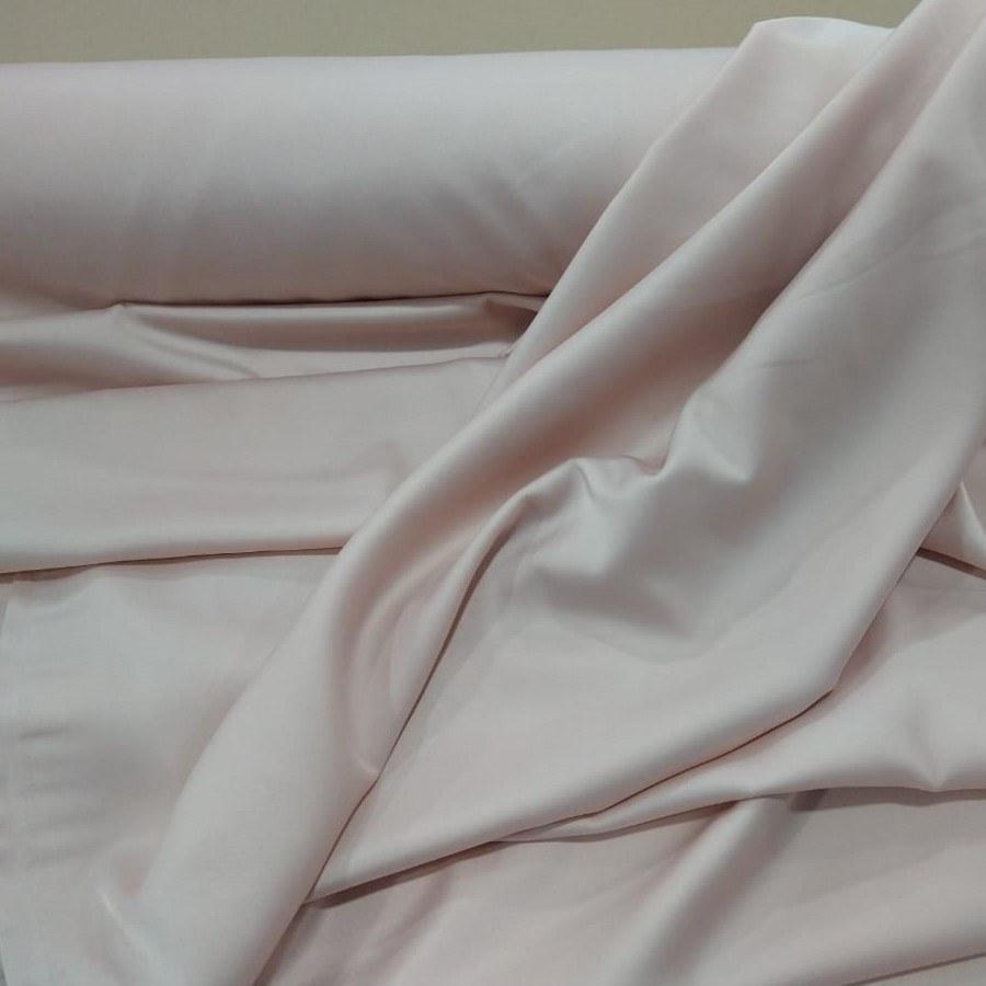 Tecido Crepe Magna Span  Na Cor Nude Rosè