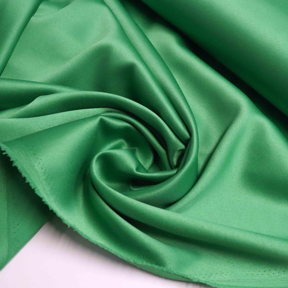 Tecido Crepe Prada Verde Bandeira