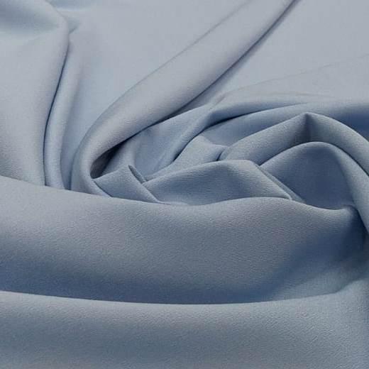 Tecido Crepe Valentino Azul Serenity