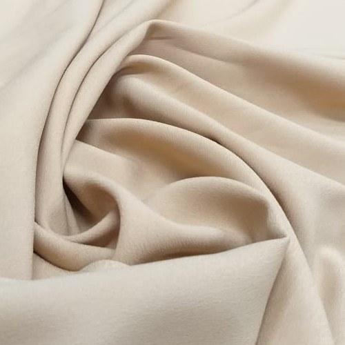 Tecido Crepe Valentino Dourado Claro Pantone 15-1225