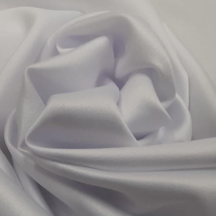 Tecido Crepe Zuhair Branco