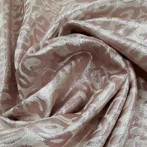 Tecido Jacquard Estampado Rose