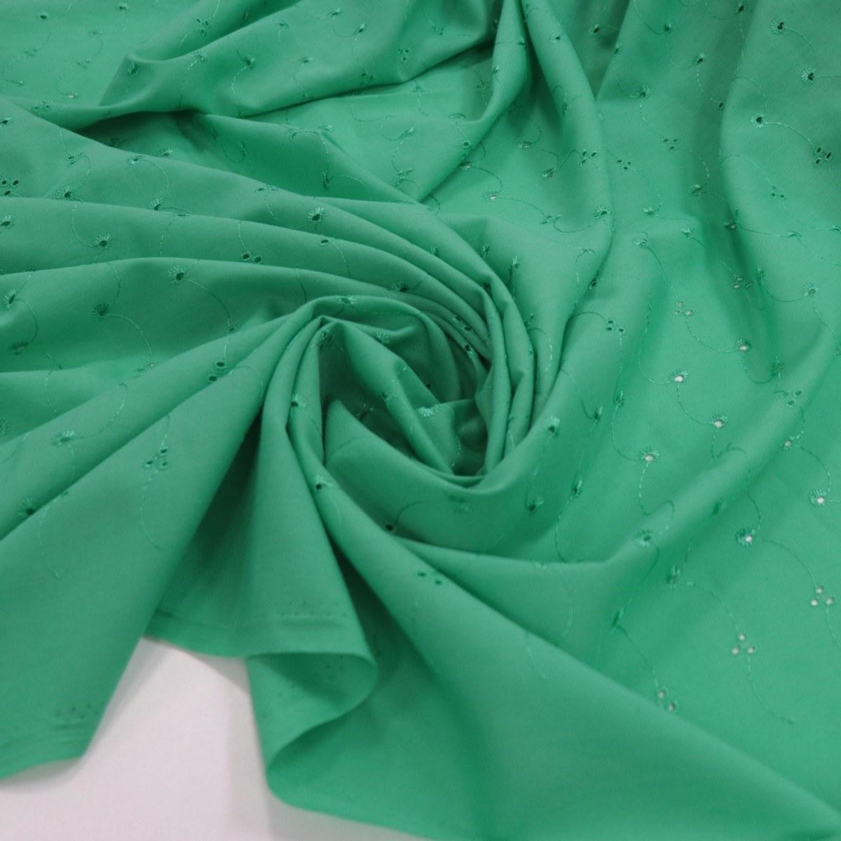 Tecido Laise Verde Bandeira
