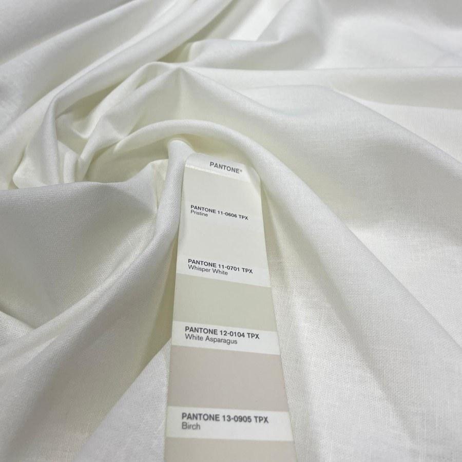 Tecido Linho com Viscose Off White