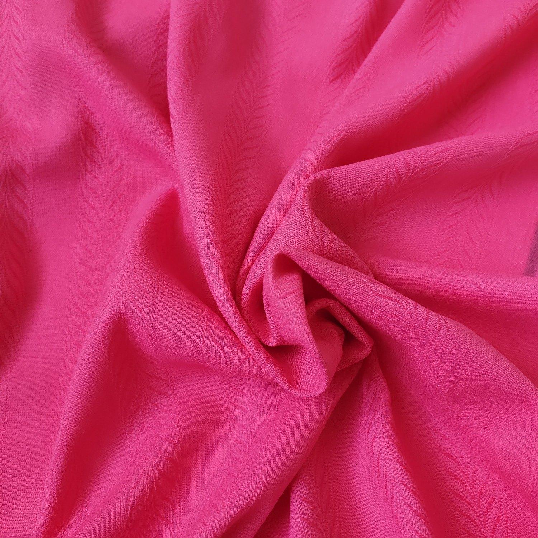 Tecido Linho Maquinetado Pink