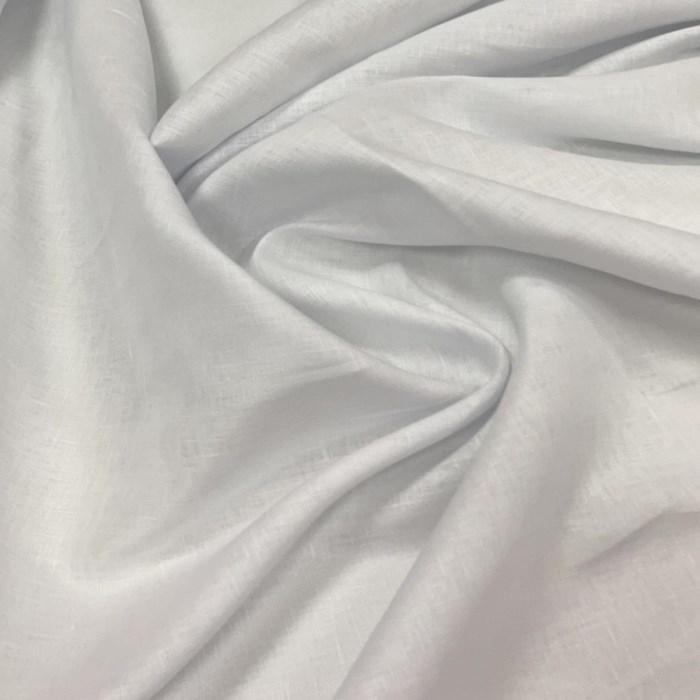 Tecido Linho Puro Branco