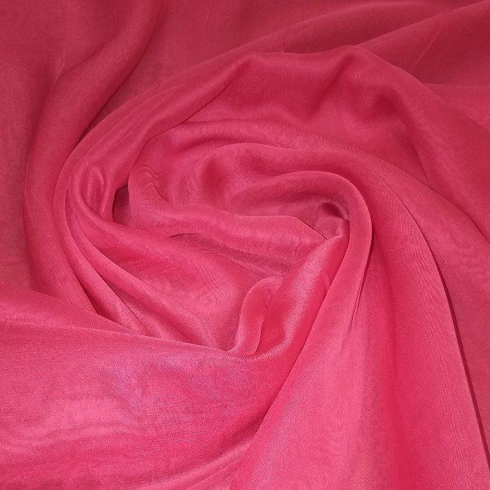 Tecido Musseline Vermelho