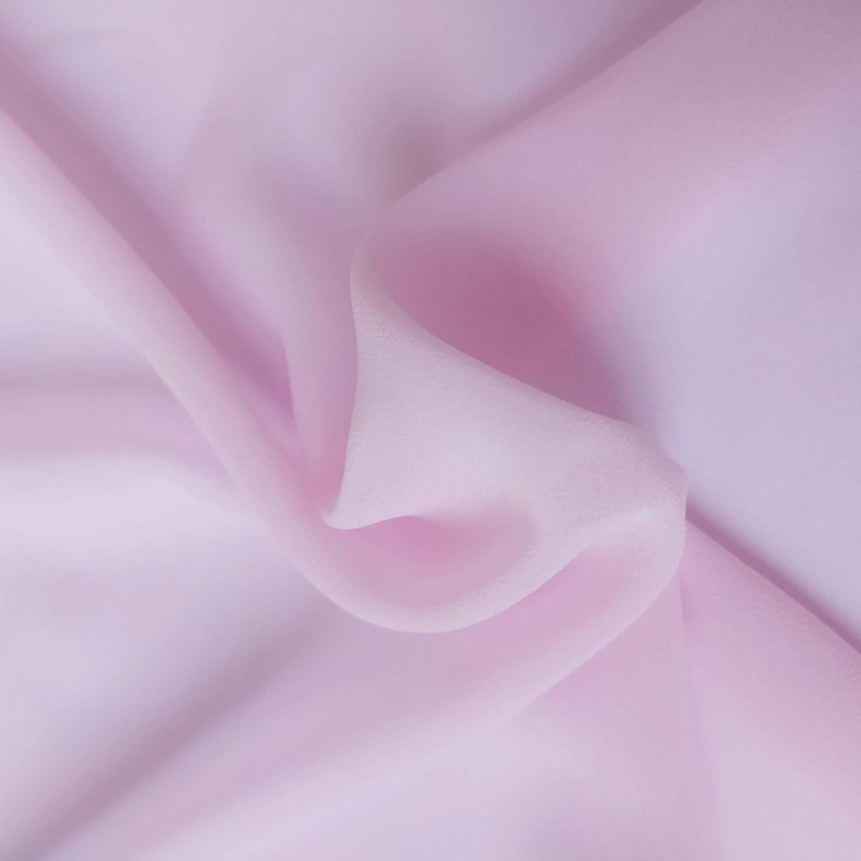 Tecido Musseline Creponada Rosa Bebê