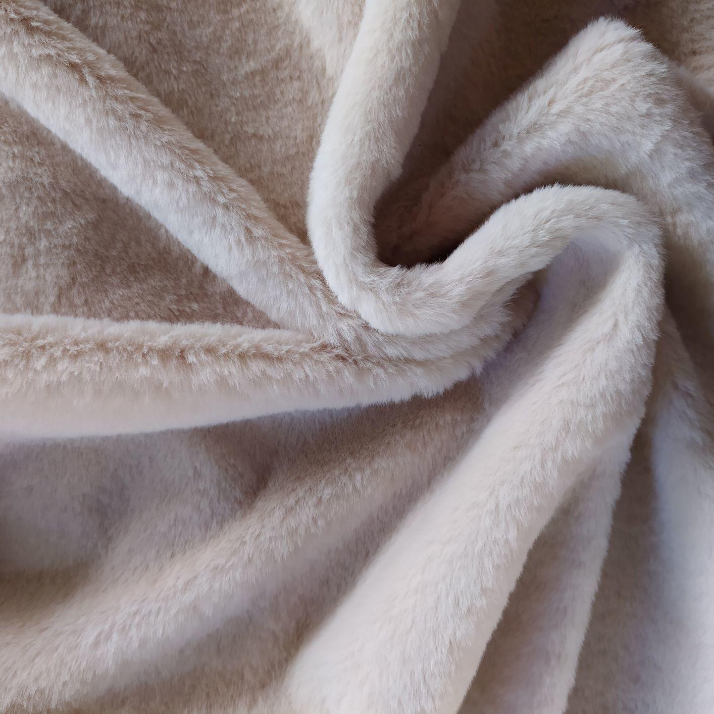 Tecido Pele Ecológica Lisa Areia