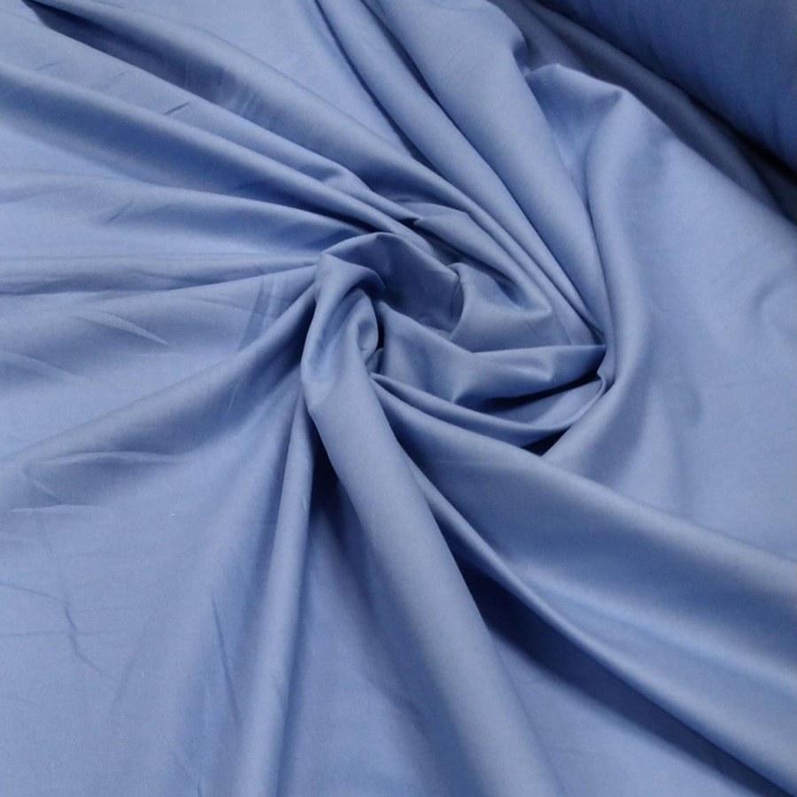 Tecido Percal 200 fios Azul Serenity 2,50 de Largura