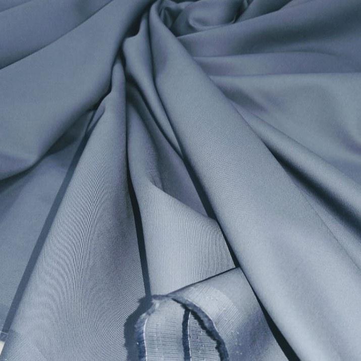Tecido Percal Acetinado 400 Fios Azul Cobalto