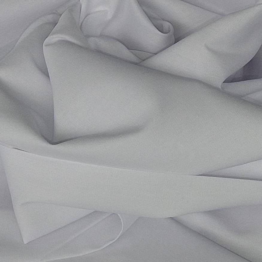 Tecido Percal Acetinado 400 Fios Cor Branco