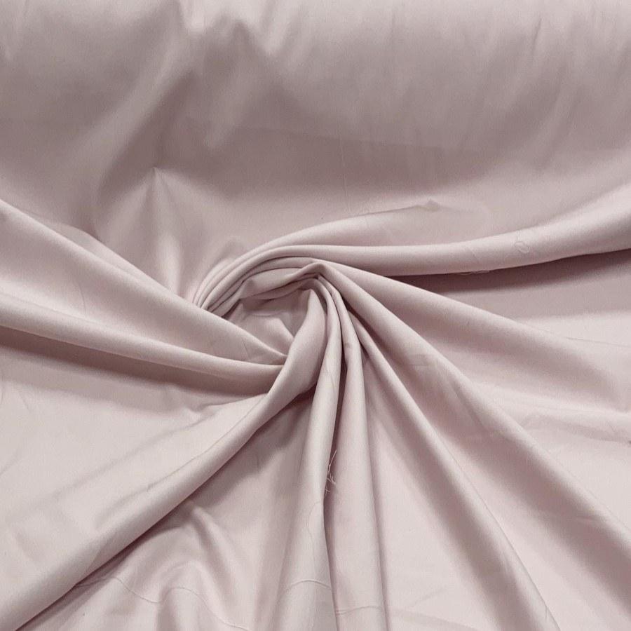 Tecido Percal Egípcio 400 fios Acetinado Rosa Claro