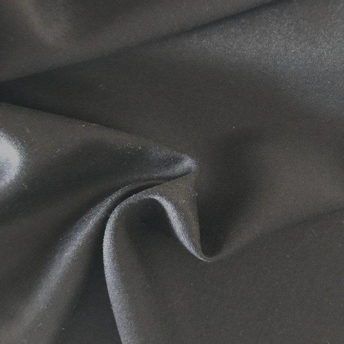 Tecido Sarja de Algodão Preto