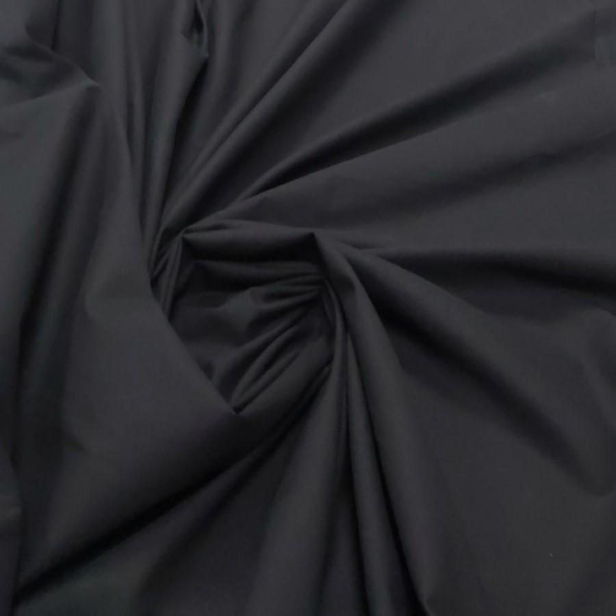 Tecido Tricoline Lisa Preta Premium 100% algodão