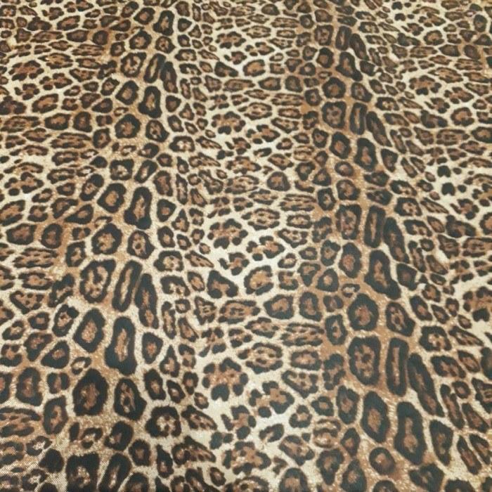 Tecido Tule De Malha Estampa Animal Print