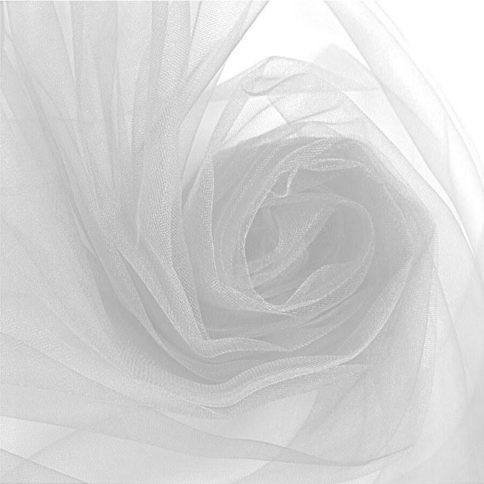Tecido Tule Ilusion Cor Branco