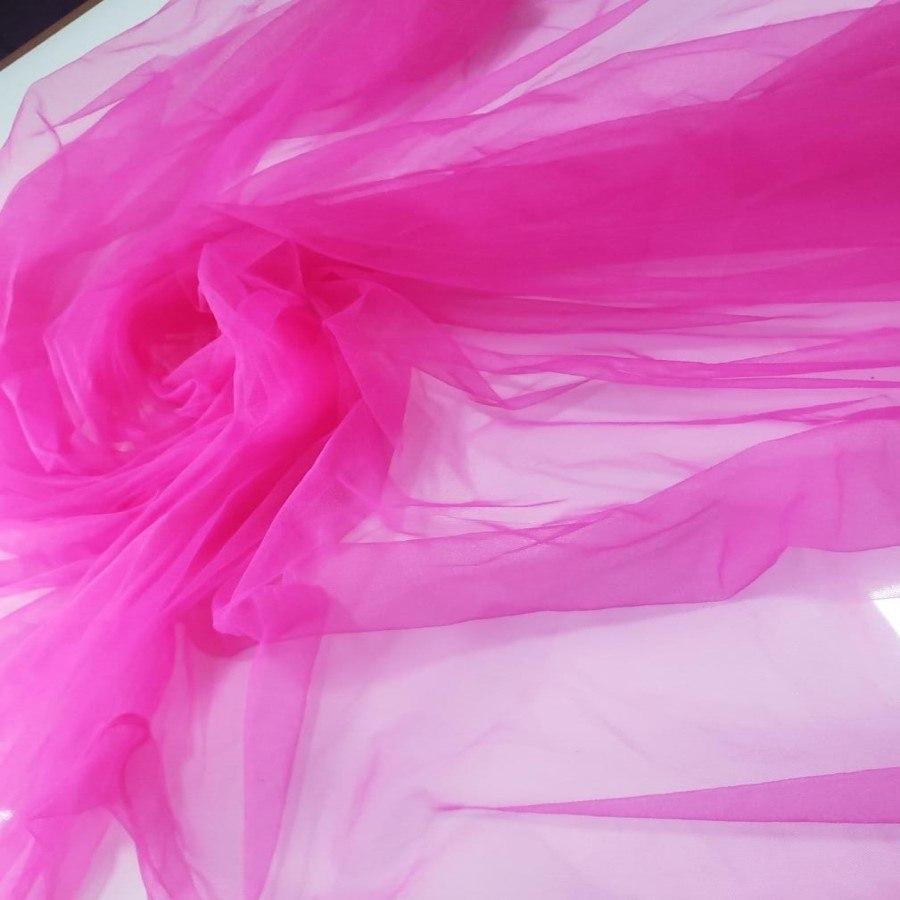 Tecido Tule Ilusion Pink