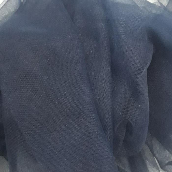 Tecido Tule Ilusione Azul Marinho