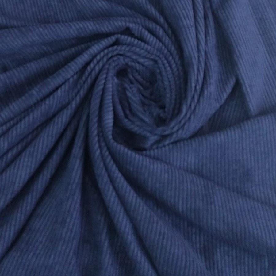 Tecido Veludo Cotelê Azul Marinho
