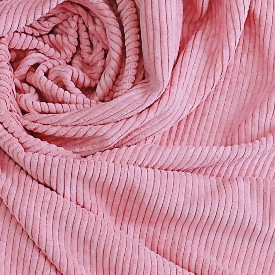 Tecido Veludo Cotelê Rosé Gold