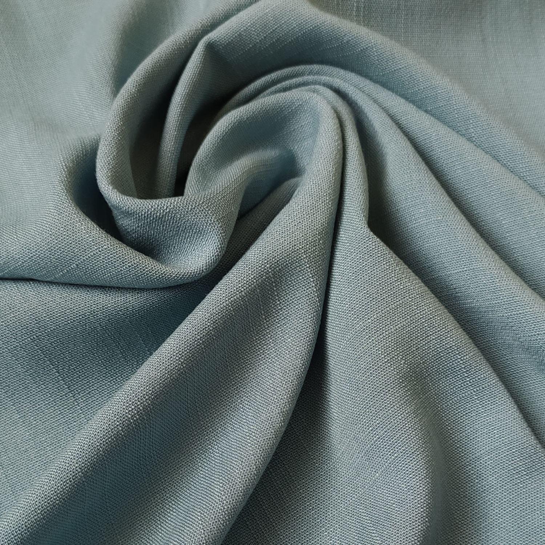 Tecido Viscolinho Azul Acinzentado