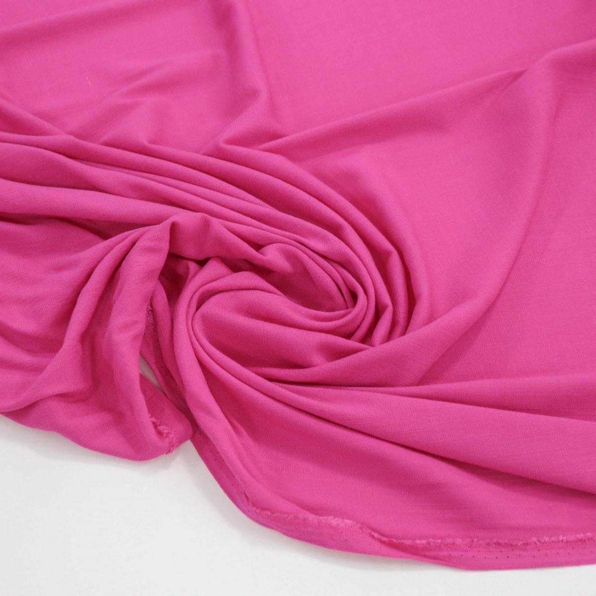 Tecido Viscolinho Rosa Pink
