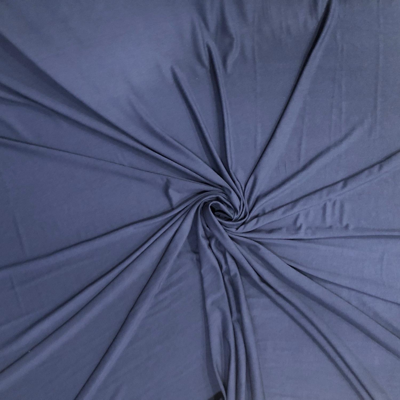 Tecido Viscolycra Azul Marinho