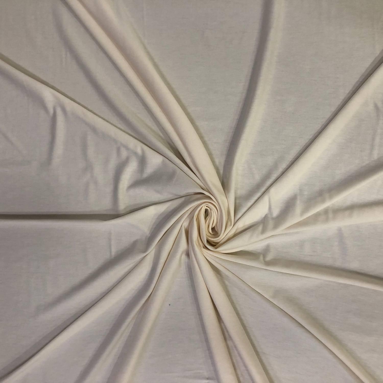 Tecido Viscolycra Off White