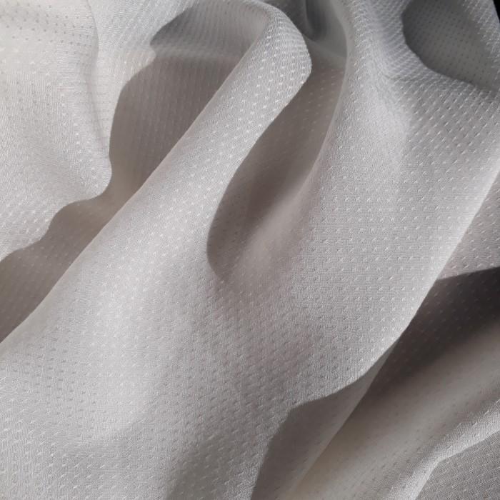 Tecido Viscose Cabeça de Alfinete Off White