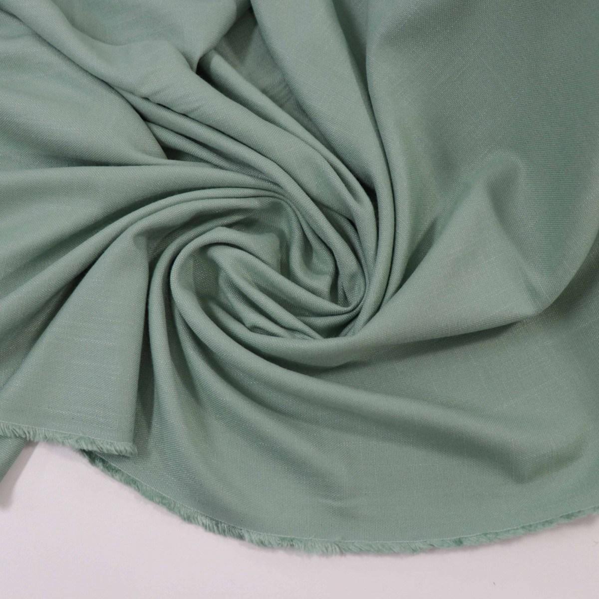 Tecido Viscose Cridélia Texturizada Verde Menta Forte