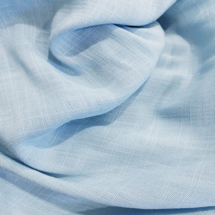 Tecido Viscose Flame Azul Serenity
