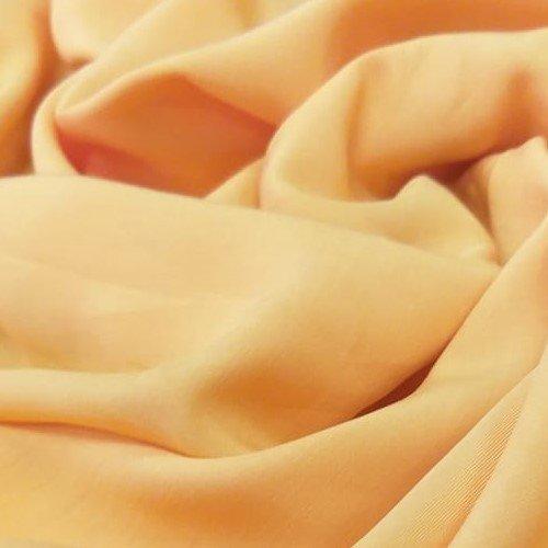 Tecido Viscose Laranja Pantone 16-1348