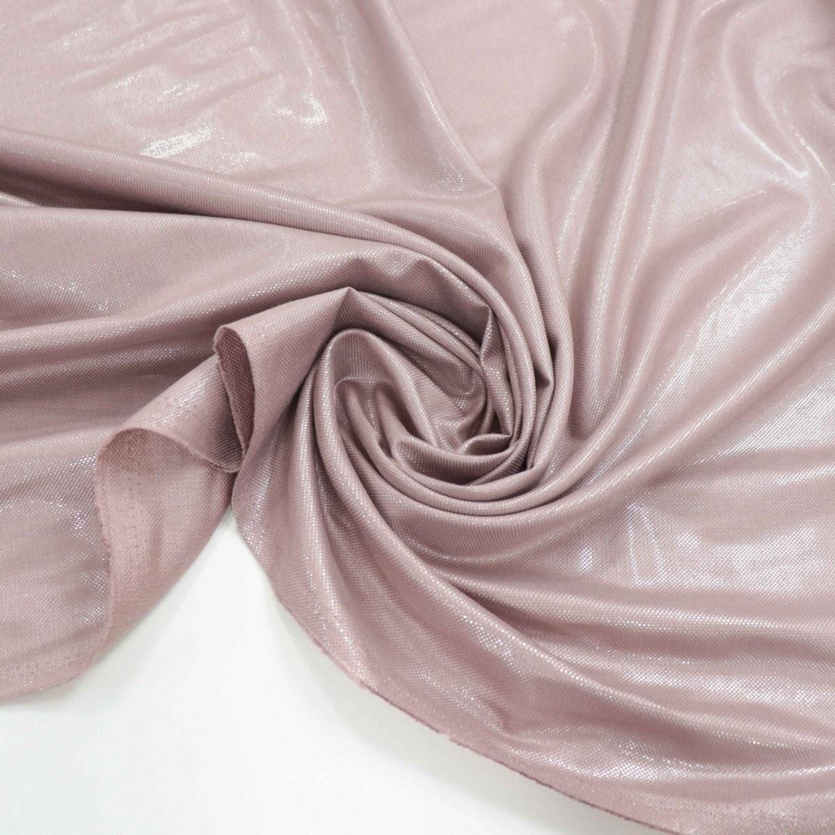 Tecido Viscose Sahara com Lurex Rosé