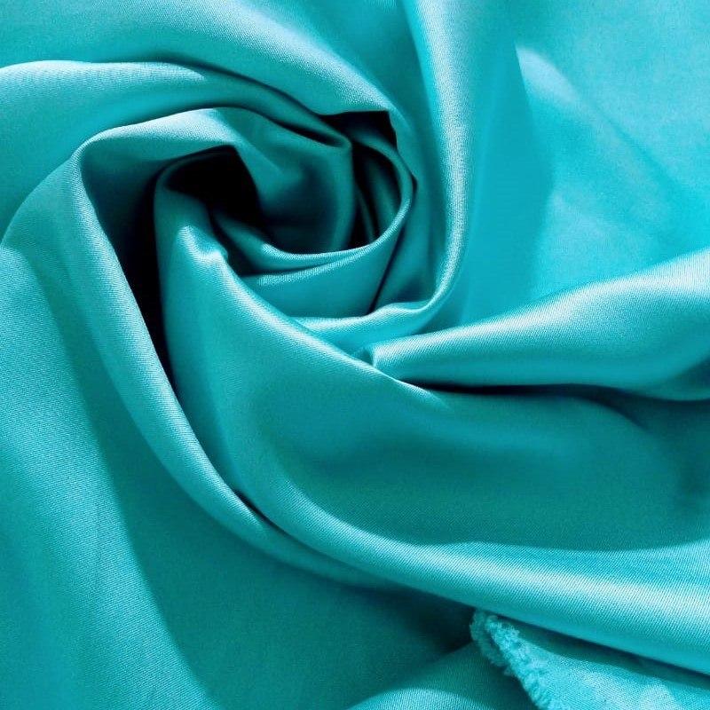 Tecido Zibeline Cor Verde Tiffany